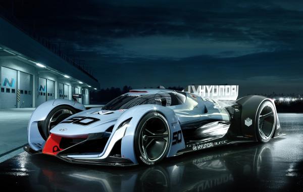 The Hyundai N 2025 Vision Gran Turismo Concept Car