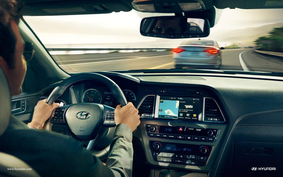 2017 Hyundai Sonata Dashboard