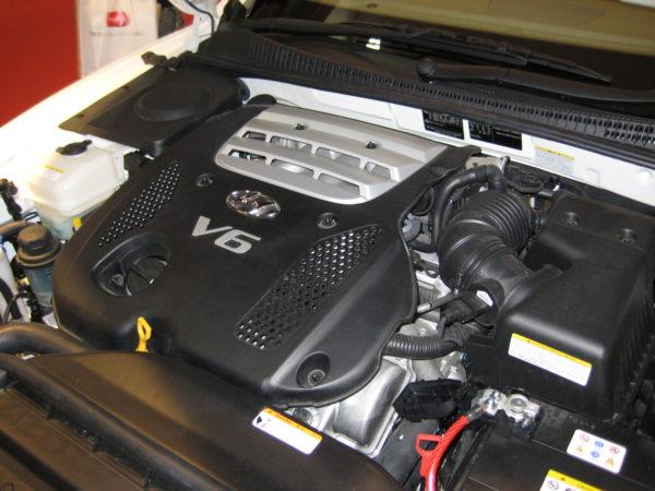 Hyundai V6 engine