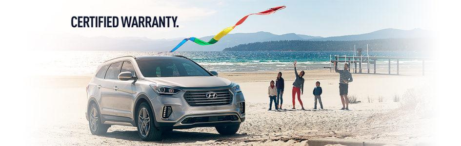 Hyundai Certified Pre=Owned Warranty