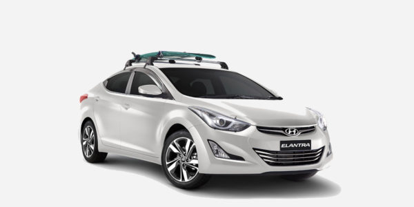 Hyundai elantra with roof rack